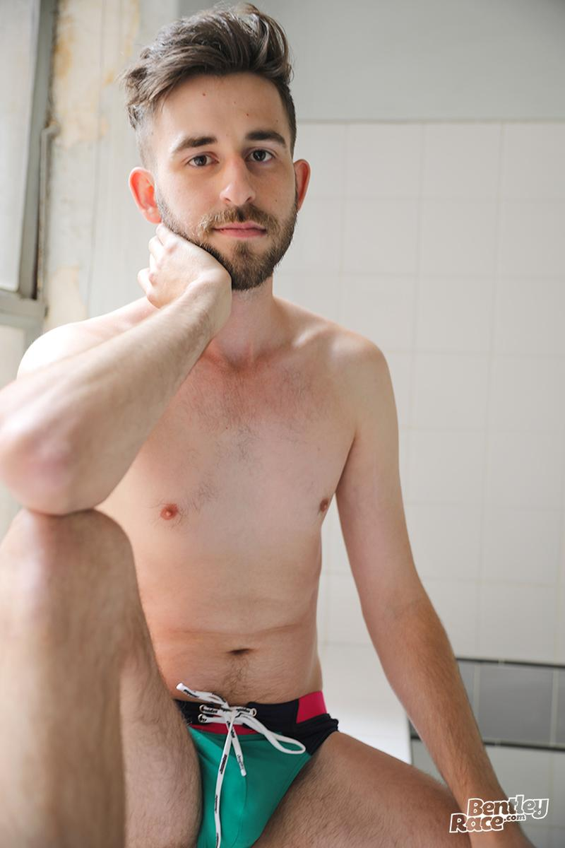 Horny bearded young Aussie dude Eddie Archer strips strokes shower Bentley Race 2 image gay porn - Horny bearded young Aussie dude Eddie Archer strips and strokes in the shower at Bentley Race