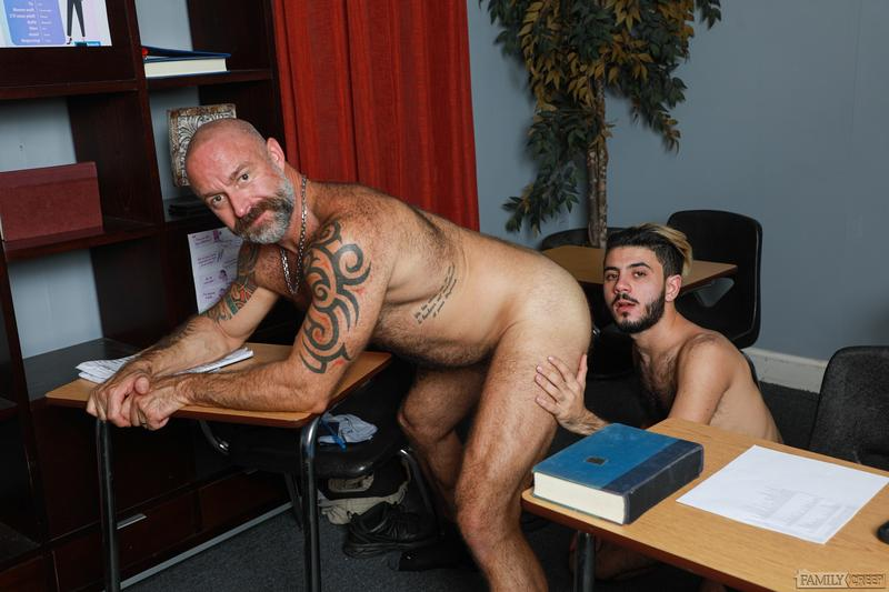 Sexy young stud Adrian Rose thick cock bareback fucking older dude Musclebear Montreal Pride Studios 7 image gay porn - Sexy young stud Adrian Rose's thick cock bareback fucking older dude Musclebear Montreal at Pride Studios